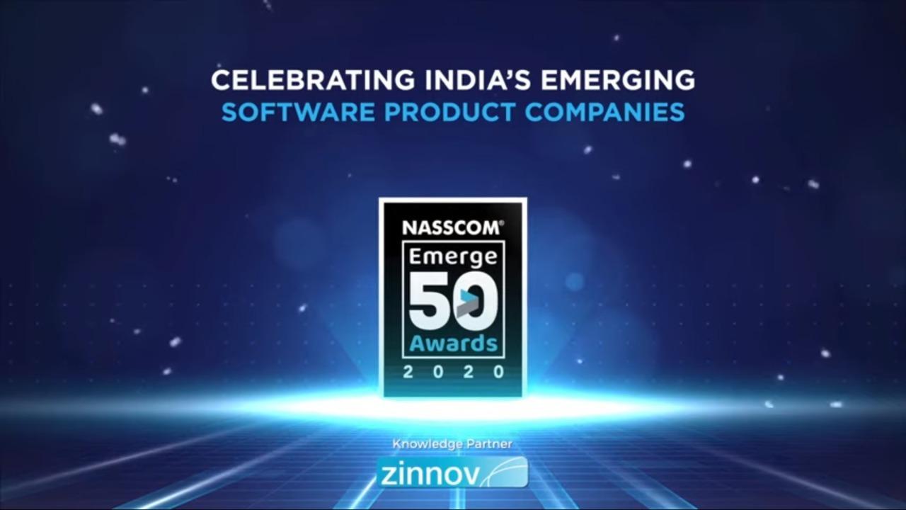 Accops bags NASSCOM Emerge 50 Award 2020